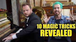 10 Magic Tricks Revealed!