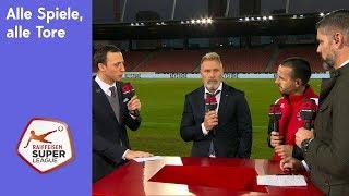 Alle Spiele, alle Tore - RSL 18/19 Runde 21, Sonntag
