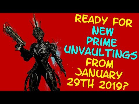 Warframe - PRIME UNVAULTING - Ember Prime & Frost Prime are back!!! thumbnail