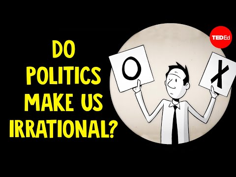 Do politics make us irrational? - Jay Van Bavel