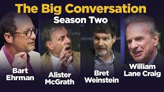 God debate: Bret Weinstein, William Lane Craig, Bart Ehrman and more... The Big Conversation returns