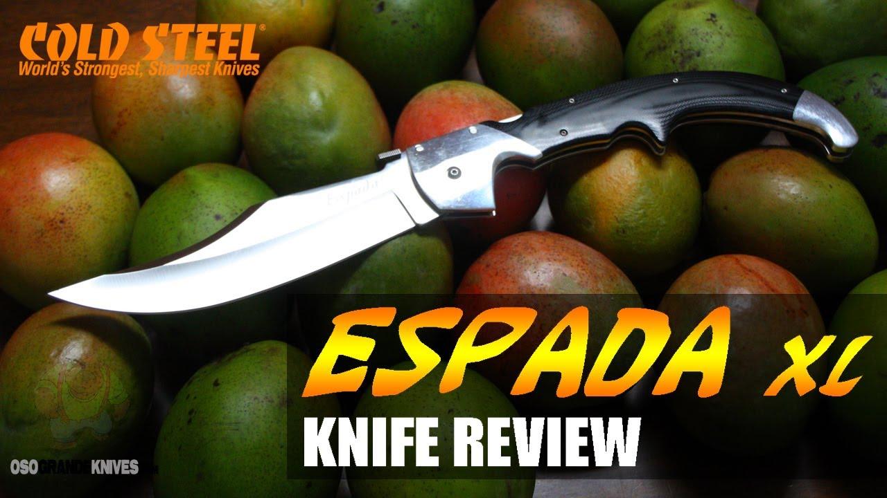 Cold Steel XL Espada Knife (Pocket Sword!) | OsoGrandeKnives
