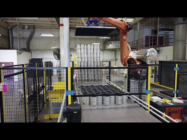 Depalletizing Robot | Autotec Solutions