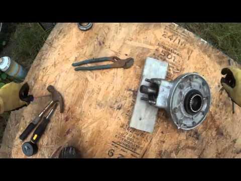 Motor hub szétszedés félig