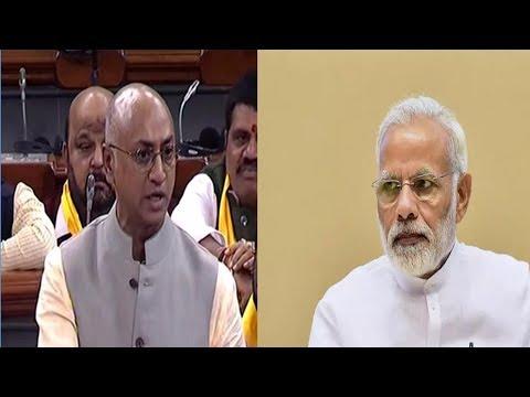 PM Modi Behavior and Galla Jayadev Speech in Lok Sabha | Weekend Comment By RK