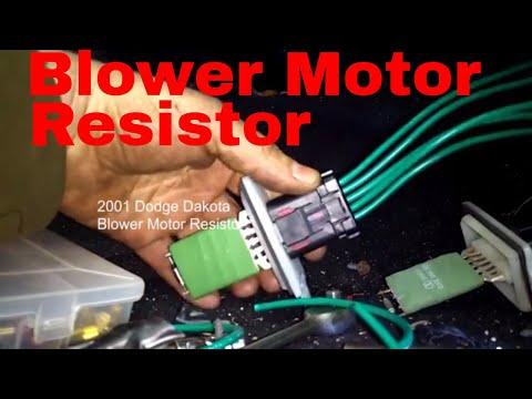 [DIAGRAM_4PO]  Dodge Dakota,Durango Blower Motor Resistor Wiring Diagram - YouTube | Dodge Durango Ac Wiring Diagram |  | YouTube