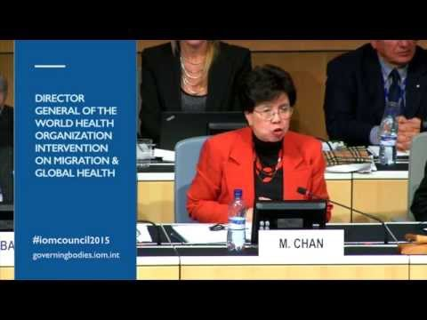 """""""We Don't Talk About a Global Crisis, Until It Gets to Europe"""" - M. Chan, Director General of WHO"""