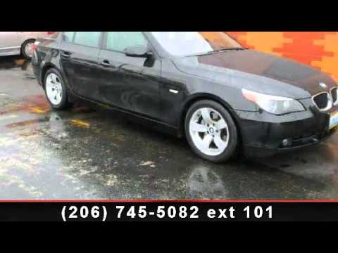 2006 bmw 5 series first national fleet and lease seattl youtube. Black Bedroom Furniture Sets. Home Design Ideas