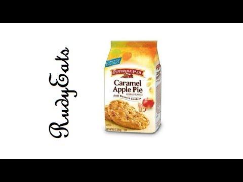 Caramel Apple Pie Cookies Pepperidge Farm - RudyEats Happy Junk Food Critic