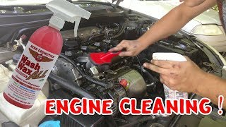 Review: Engine Cleaning W/ Aero Cosmetics Wash Wax All