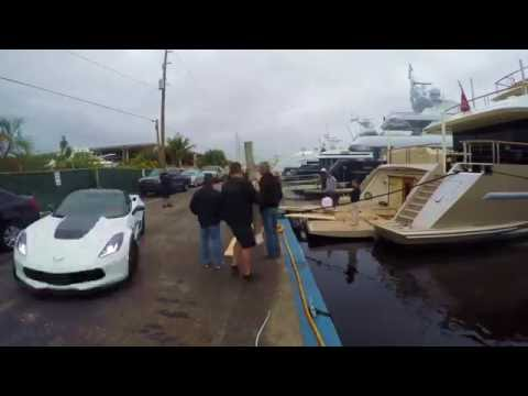 Putting a Corvette Z06 on a Yacht