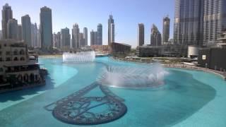 Dubai Fountain @ UAE; 5th February, 2016