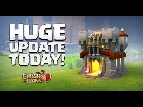 Live -) clash of clans new update   leaked! this is huge! 10 clash of clans may update speculation!