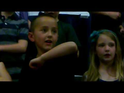 2011 Ammon Elementary School Play - Kyle Radford