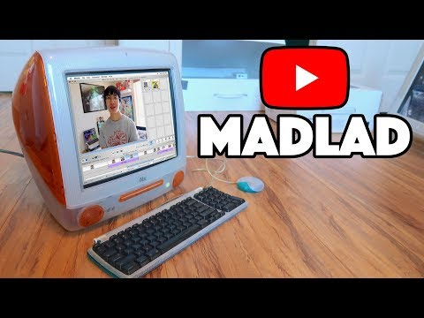 EDITING A YOUTUBE VIDEO ON AN iMAC G3 - Plainrock124
