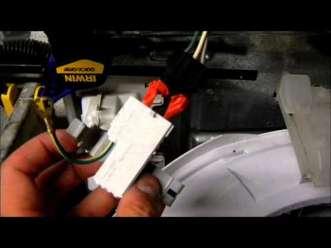 How To Replace A Washer Lid Switch Whirlpool Maytag R