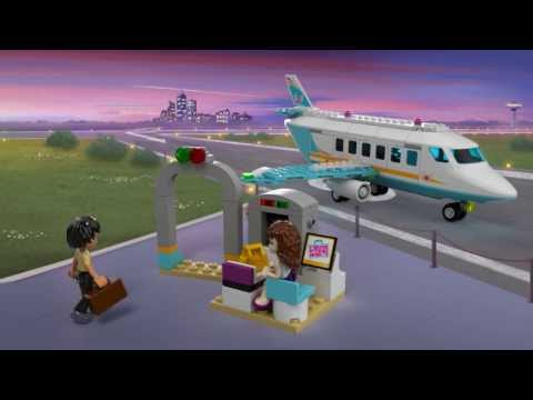 LEGO Friends 41100 Product Animation Private Jet
