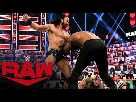 Drew McIntyre & Braun Strowman vs. MACE & T-BAR: Raw, April 26, 2021