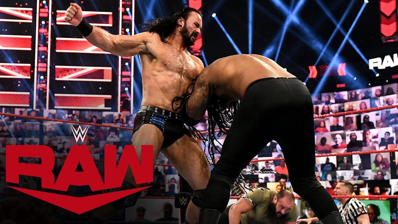 Drew McIntyre & Braun Strowman vs. MACE & T-BAR: Raw, April 26, 2021