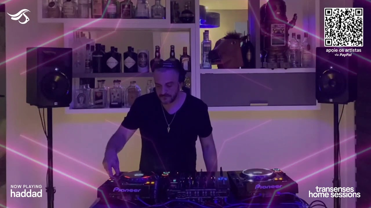 Transenses Home Sessions #13 Presents - HADDAD (BR)