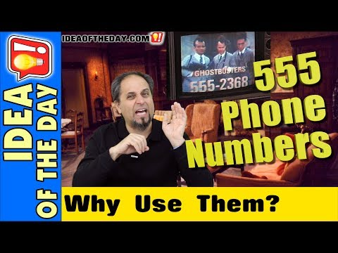 Movies Shouldn't Use 555 Phone Numbers! Idea of the day #453