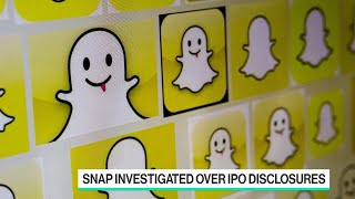Snap Falls Amid Investigations of IPO Disclosures