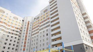 Строительство общежития ГрГУ имени Янки Купалы по улице Дубко вошло в финальную стадию