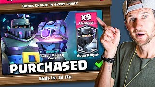 BUYING THE MEGA KNIGHT! • Clash Royale Guaranteed Mega Knight