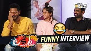 Lakshmi Movie Team Funny Interview || Prabhu Deva, Ditya Bhande, AL Vijay - Filmyfocus.com