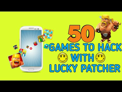 50 games you can hack with Lucky Patcher !