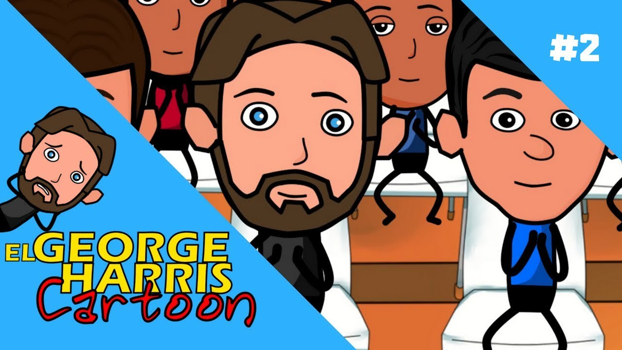 el-george-harris-cartoon-ep-2-trabajando-aplaudiendo