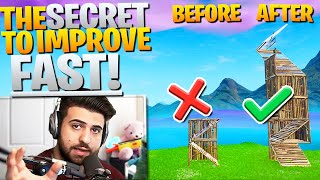 The SECRET To Get BETTER *FAST* At Fortnite.. (Fortnite Battle Royale)