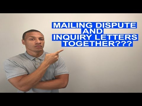 Do You Mail Hard Inquiry Letters With Dispute Letters?   Credit Healing Q&A  