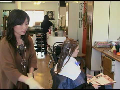 Japanese Hair Straightening Thermal Reconditioning In The