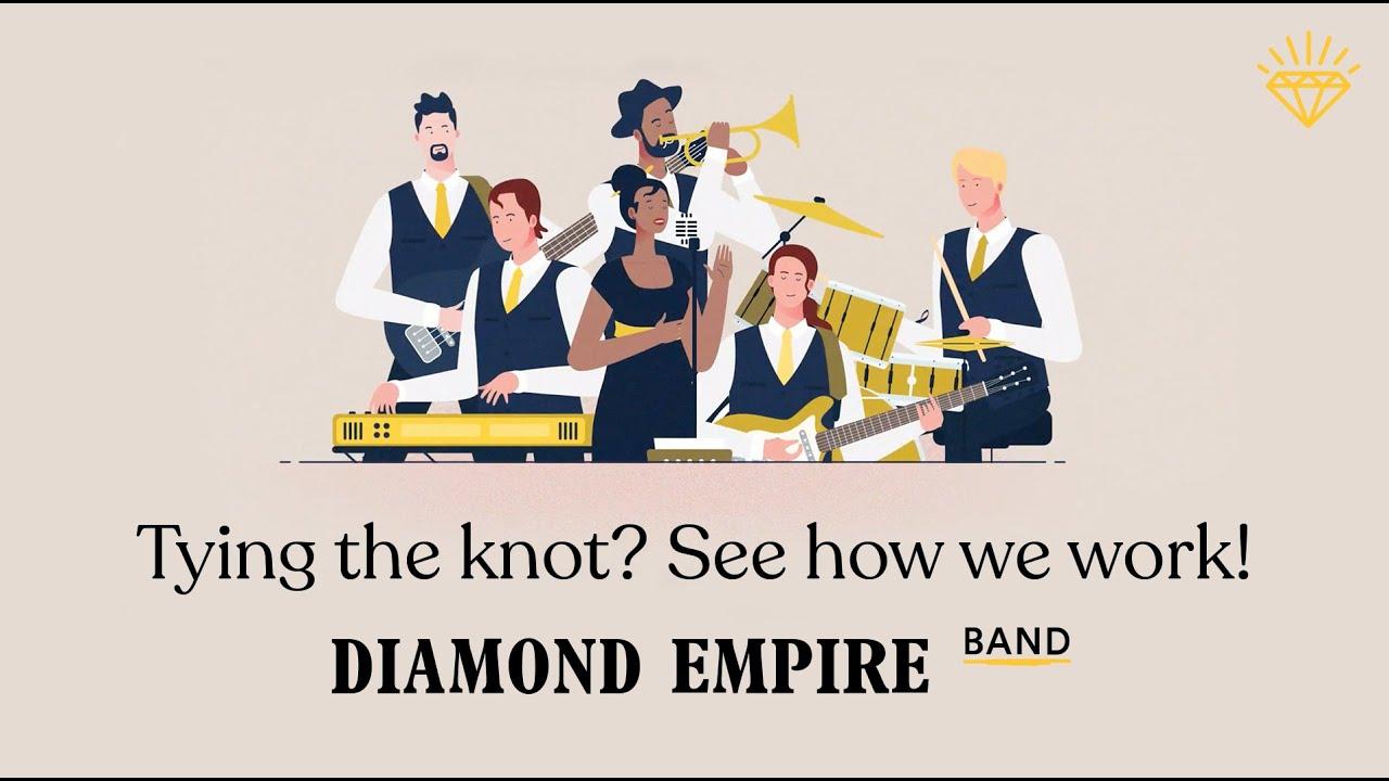 High Energy Live Music For Weddings & Events | Diamond Empire Band MyTub.uz