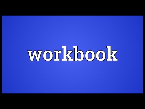 Workbook Meaning