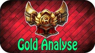 LOL - GOLD ELO ANALYSE - SEASON 7