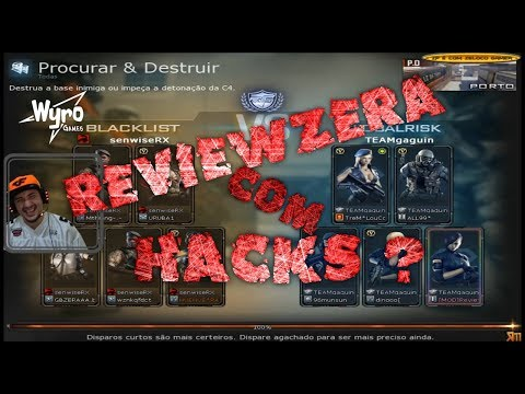 Reviewzera #6 clã De Hacks ? BAN AO VIVO !