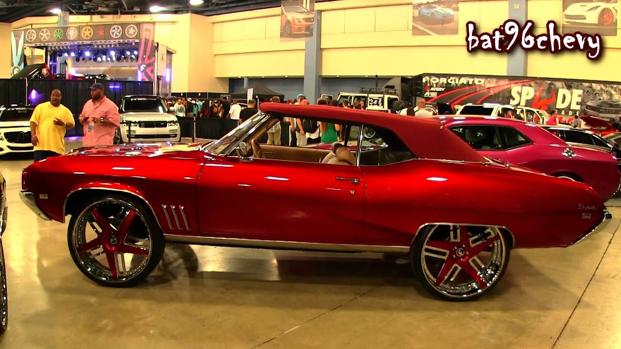 Candy Red 1969 Buick Skylark Vert On 26 Quot Forgiatos 1080p