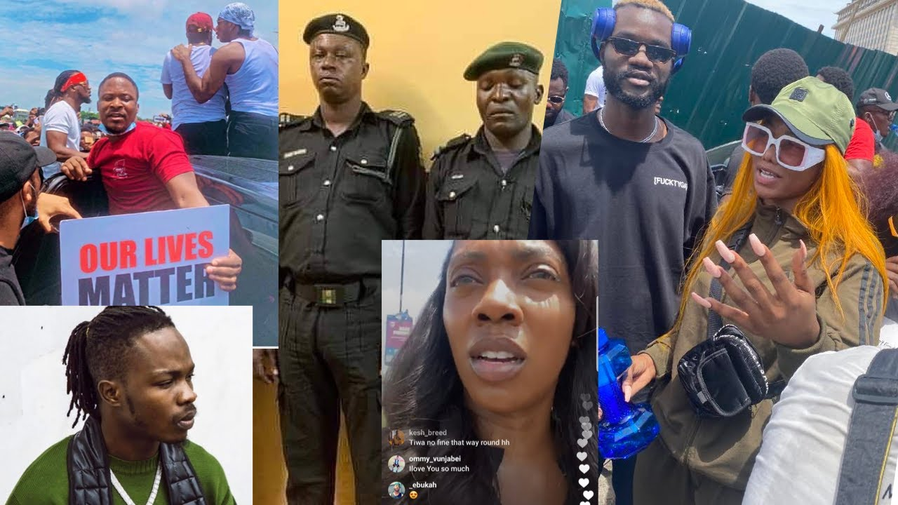 Tacha A FOOL | SARS Arrest Runtown & Falz | Naira Marley EndSARS Protest