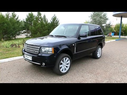 2006 Range Rover Vogue. Start Up, Engine, and In Depth Tour.