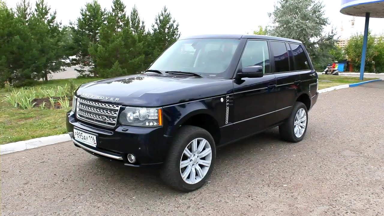 2006 Range Rover Vogue Start Up Engine and In Depth Tour
