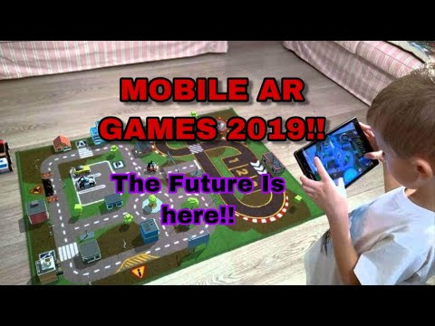 10  Mobile AR (Augmented Reality) Games - IOS/ Android 2019 - Ep 1