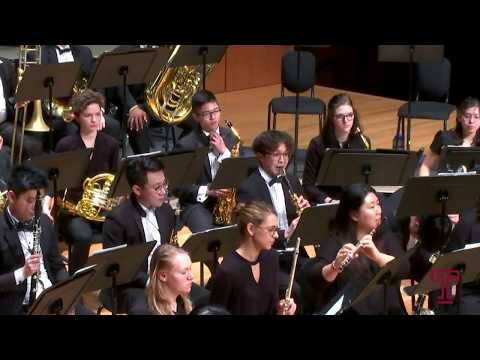 TEMPLE UNIVERSITY WIND SYMPHONY: Patricia Cornett, conductor
