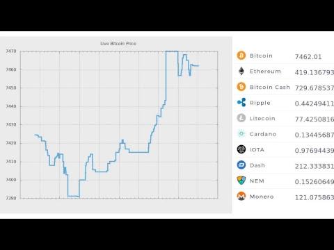 Live Bitcoin Trading Price 24/7