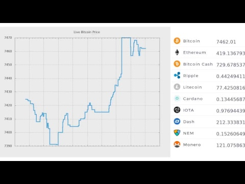 Live Bitcoin Trading Price 24/7