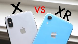 iPhone X Vs iPhone XR In 2020! (Comparison) (Review)