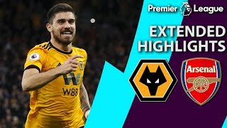Wolves V. Arsenal | Premier League Extended Highlights | 4/24/19 | Nbc Sports