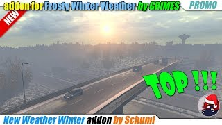 "[""BEAST"", ""Simulators"", ""Review"", ""Timelapse"", ""Let'sPlay"", ""EuroTruckSimulator2"", ""ETS2ModsReview"", ""DLCBeyondTheBalticSea"", ""New Winter Weather addon"", ""Frosty Winter Weather Mod"", ""Grimes"", ""Schumi""]"