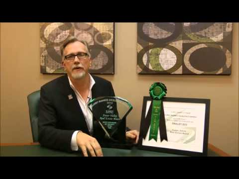 President Scott Olson talks about the FVREB winning a Business Excellence Award